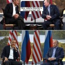 Obama vs Putyin