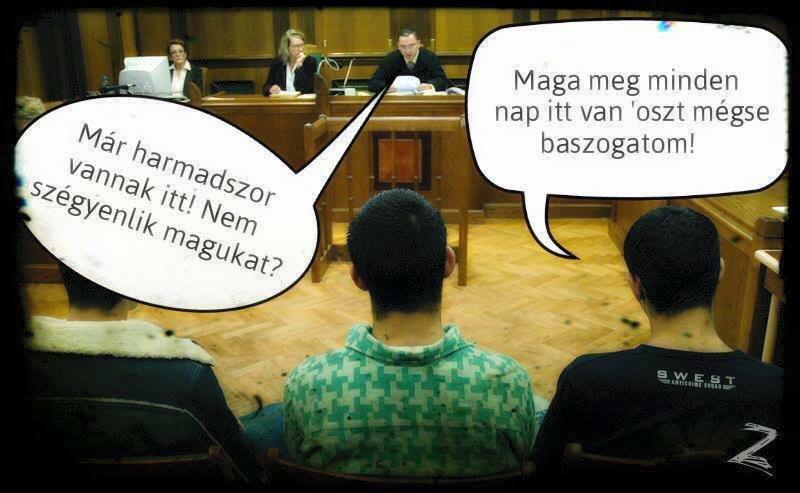 Bíróságon