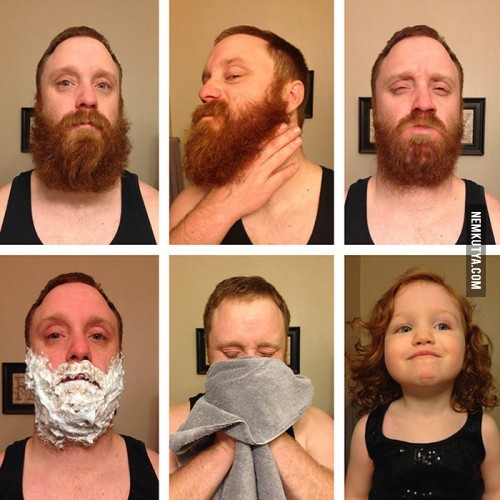 Csak óvatosan azzal a borotvával!