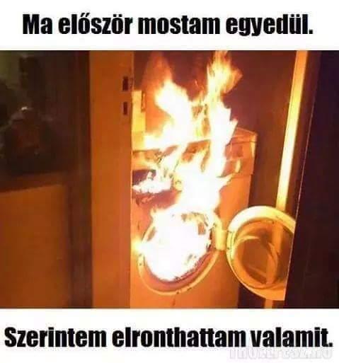 Egyedül mosás