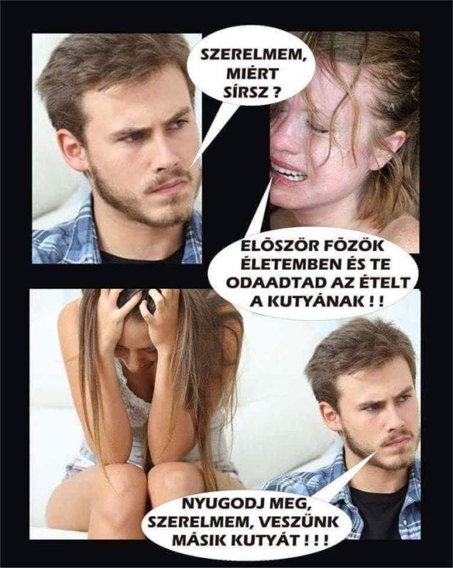 Szegény … :D