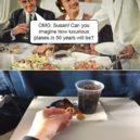 El tudod képzelni, milyen luxusban fogunk repülni 50 év múlva?